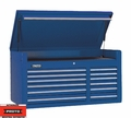 "Proto Tool J455027-12BL 12 Drawer 50"" Blue Top Chest"