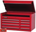 "Proto Tool J455027-8RD 8 Drawer 50"" Red Top Chest"