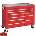 """Proto Tool J455041-10RDPD 10 Drawer 50"""" Red Workstation with Power Drawer"""