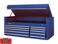 "Proto Tool J456627-10BL 10 Drawer 66"" Blue Top Chest"