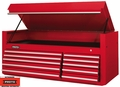 "Proto Tool J456627-10RD 10 Drawer 66"" Red Top Chest"
