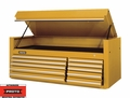 "Proto Tool J456627-10YL 10 Drawer 66"" Yellow Top Chest"