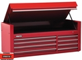 "Proto Tool J456627-8RD 8 Drawer 66"" Red Top Chest"