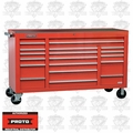 """Proto Tool J456741-18RDPD 18 Drawer 67"""" Red Workstation with Power Drawer"""