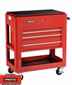 Proto Tool J459000-3RD 3 Drawer Heavy Duty Red Utility Cart