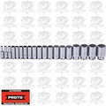 "Proto Tool J54105-TT 19 Piece Tether-Ready Deep Socket Set 1/2"" Dr 12 PT"