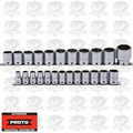 "Proto Tool J54211-TT 24 Piece Tether Ready Socket Set 1/2"" Drive 12 Point"
