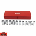 "Proto Tool J55108 12 Piece 3/4"" Drive SAE Deep Socket Set 6 Point"