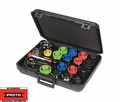 Proto Tool JFF1700 23 Piece Complete Auto Cooling System Tester