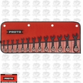 Proto Tool JSCVMS-13S 13pc 6mm - 19mm Metric STUBBY Ratcheting Wrench Set