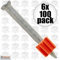 "Ramset 1512 6pk Boxes of 100 1-1/2"" Powder Fastening Pins"