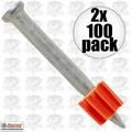 "Ramset 1512 2xpk Boxes of 100 1-1/2"" Powder Fastening Pins"