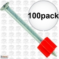 "Ramset 1516 Box of 100 2-1/2"" Pins"