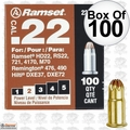 "Ramset 22CW Box of 100 #2 ""Brown"" 22 cal Single Shot Loads"