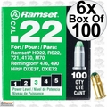 "Ramset 32CW 6pk Boxes of 100 #3 ""Green"" 22 cal Single Shot Loads"