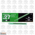 "Ramset 3RS27 10pk #3 ""Green"" 27 cal Strip Loads"