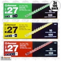 Ramset 3RS27 3x 10 Strips of 10 Green, Yellow, Red 27 cal Strip Loads