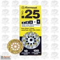 "Ramset 4D60 Box of 10 #4 ""Yellow"" 25 cal Round Disc Loads"