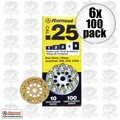 Ramset 4D60 6pk 10 Discs of 10 (600 total) #4 Yellow 25 cal Round Disc Loads