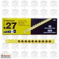 "Ramset 4RS27 Box of 10 #4 ""Yellow"" 27 cal Strip Loads"