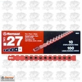 "Ramset 5RS27 10pk #5 ""Red"" 27 cal Strip Loads"