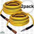 "Rolair 1450NOODLE 1/4"" x 50' Noodle Air Hose with Coupler and Plug 2x"