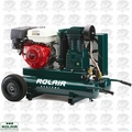 Rolair 7722HK28 9HP 9 Gal 2 Stage Portable Gas Powered Air Compressor