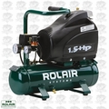 Rolair FC1500HS3 1.5 HP Single Stage Hand Carry Air Compressor Baby Bull