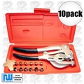 Roper Whitney 5JR 10pk The Original 16pc Whitney Punch Kit