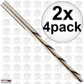 "Roto Zip SC4 2x 4pk 1/8"" Multi-Purpose Zip Bits"