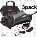 Roto Zip SS560VSC-30 3x 120V RotoSaw Variable Speed Spiral Saw Kit Refurb