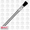 "Sait 00501 3/8"" Acid Brush Metal Handle Flux/Hobby/Pro"