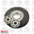 "Sait 06556 8"" Bench Grinder Metal Wire Wheel"
