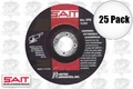 Sait 20015 25pk Metal Cutting Grind Wheel