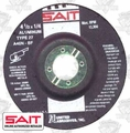 "Sait 20062 4-1/2"" x 7/8"" x 1/4"" Non-Ferrous Metal Cutting Grind Wheel"