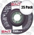Sait 20062 25pk Non-Ferrous Metal Cutting Grind Wheel