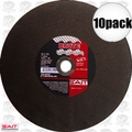 Sait 23422 10pk Metal Cutting Wheel