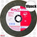 Sait 23455 10pk A24R General Purpose Cut-Off Wheel