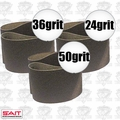 "Sait 57200 3pk 3"" x 21"" Sanding Belt Kit"