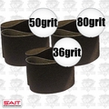 "Sait 57901 3pk 4"" x 24"" Sanding Belt Kit"