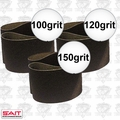 "Sait 57906 3pk 4"" x 24"" Sanding Belt Sampler Set"