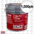 "Senco 06A162P Box of 1,000 #6 x 1-5/8"" Drywall Screw"