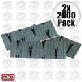 Senco A100759 2x 2600pk 23 Gauge Galvanized Micro Pin Nails