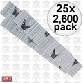 Senco A100759 25x 2600pk 23 Gauge Galvanized Micro Pin Nails