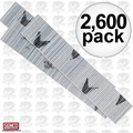 "Senco A102009 Box of 2,600 2"" 23 Gauge Galvanized Micro Pin Nails"