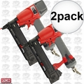 "Senco SLS18MG 2pk 3/8""~1-5/8"" 18Ga. 1/4"" Crown Medium Wire Stapler RED"