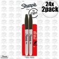 Sharpie 30162PP 24x 2pk Fine Point Black Marker