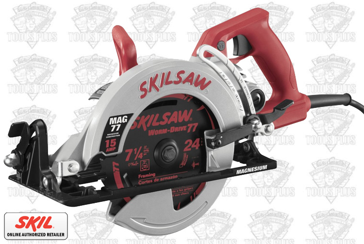 Skil shd77m 02 7 14 magnesium worm drive skilsaw greentooth Image collections
