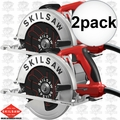 Skil SPT67M8-01-2 2x Left Hand South Paw Circular Saw 7-1/4""