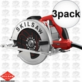 Skil SPT67M8-01-3 3x Left Hand South Paw Circular Saw 7-1/4""